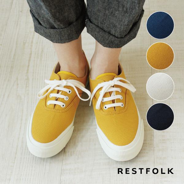 【RESTFOLK】CANVASデッキシューズ  apparel