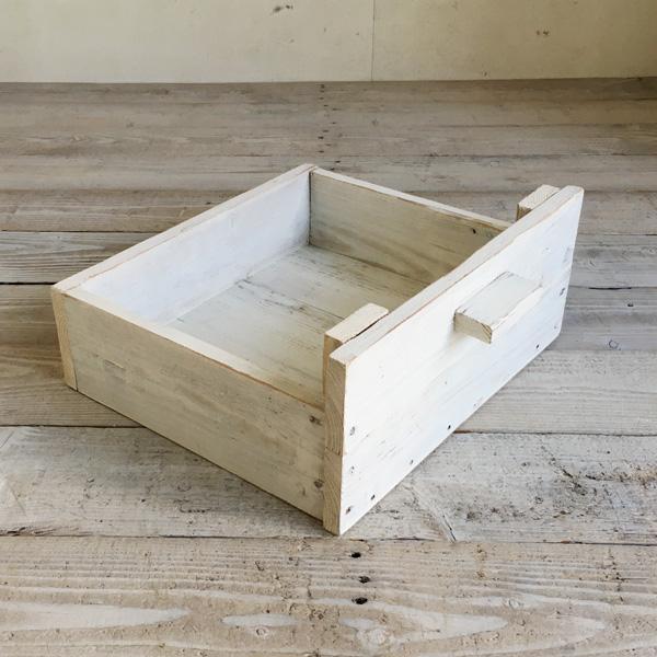 幅90cm 幅140cmローボードの棚に合わせたボックス小物の整理に便利です リサイクルウッド 奉呈 幅140cmローボード用ウッドボックス ホワイト 木製箱 木製BOX 収納箱 木製ボックス 収納BOX 5%OFF 収納ボックス