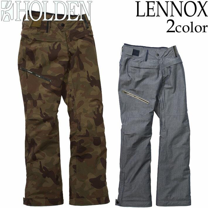 [現品限り特別価格] 18-19 HOLDEN スノボウェア レディース LENNOX パンツ ホールデン