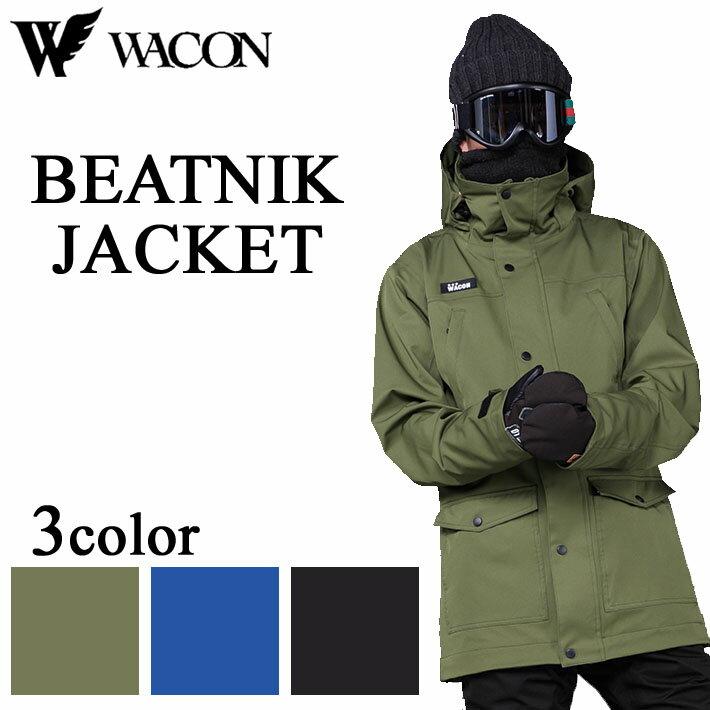【日本限定モデル】 18-19 18-19 WACON スノボジャケット BEATNIK メンズ ビートニック BEATNIK ワコン スノーボードウェア メンズ, カワニシチョウ:d8ca7876 --- supervision-berlin-brandenburg.com