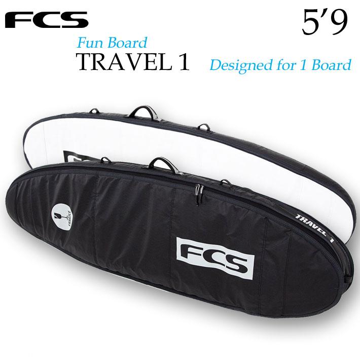 FCS サーフボード ハードケース TRAVEL1 [5'9