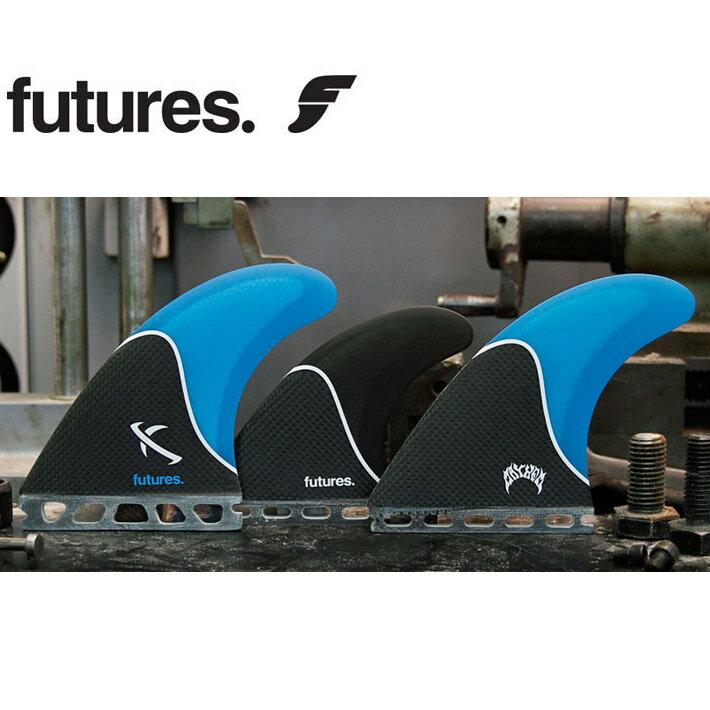FUTURES. FIN フューチャーフィン LOST LARGE 5FIN [BLUE BLACK] MAYHEM メイヘム LOST マット・バイオロス TRI-QUAD ショートボード用フィン【あす楽対応】