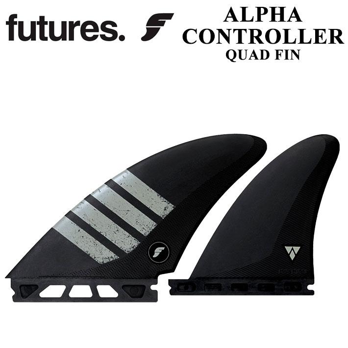 [送料無料] FUTURE FINS フューチャーフィン ALPHA アルファ CONTROLLER CARBON GREY QUAD クアッド 4FIN 4フィン サーフィン サーフボード 【あす楽対応】