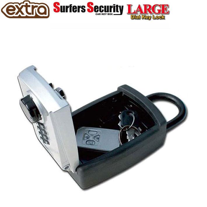スマートキーも収納可能 鍵の保管 共有に便利 海での鍵の隠し場所でお困りの方に サーファーズセキュリティーキーボックス ラージ EXTRA 捧呈 エクストラ Box あす楽対応 Car Surfers LARGE セキュリティーボックス Key 限定タイムセール Security