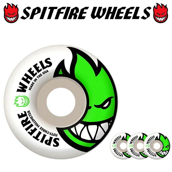 スピットファイアー ウィール SPITFIRE BIGHEAD 53mm [WHITE] spitfire wheel SKATE SK8 スケート spit fire