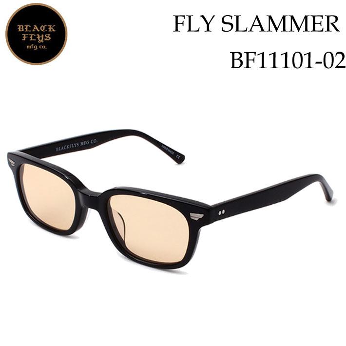 ブラックフライ サングラス [BF-11101-02] FLY SLAMMER フライスラマー BLACK FLYS [BLACK_ORANGE] ジャパンフィット【あす楽対応】