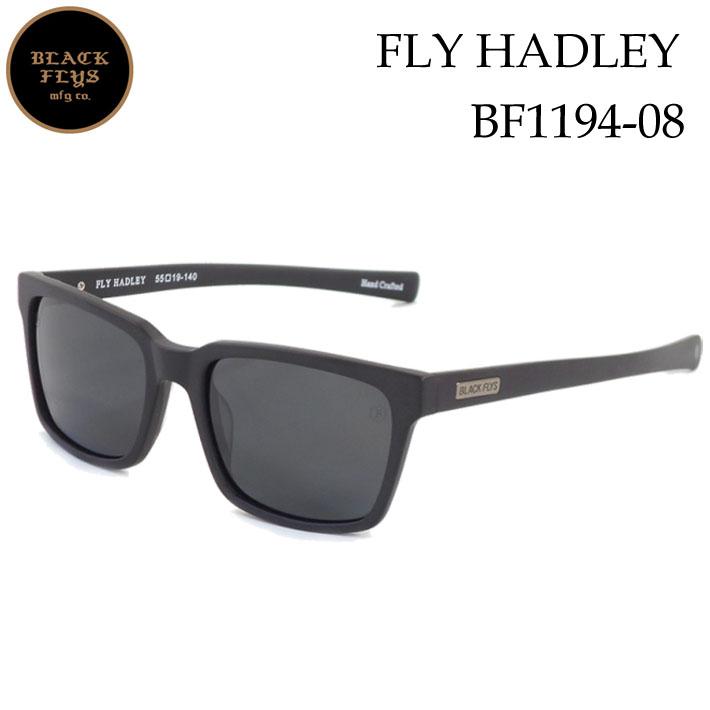 ブラックフライ サングラス 偏光 [BF-1194-08] FLY HADLEY フライ へドリー BLACK FLYS [MATT BLACK/GREY_POLARIZED] ジャパンフィット【あす楽対応】