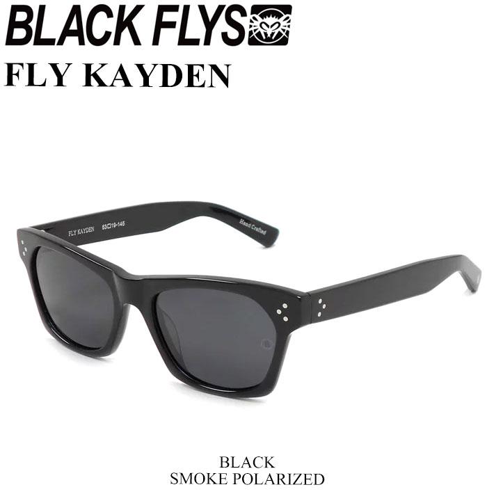 BLACK FLYS ブラックフライ サングラス FLY KAYDEN フライ ケイデン 偏光レンズ [BLACK SMOKE POL] [BF-1225-01] ジャパンフィット