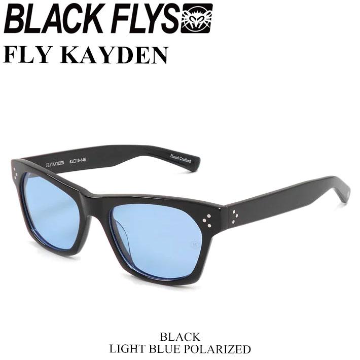 BLACK FLYS ブラックフライ サングラス FLY KAYDEN フライ ケイデン 偏光レンズ [BLACK/LIGHT BLUE POL] [BF-1225-03] ジャパンフィット