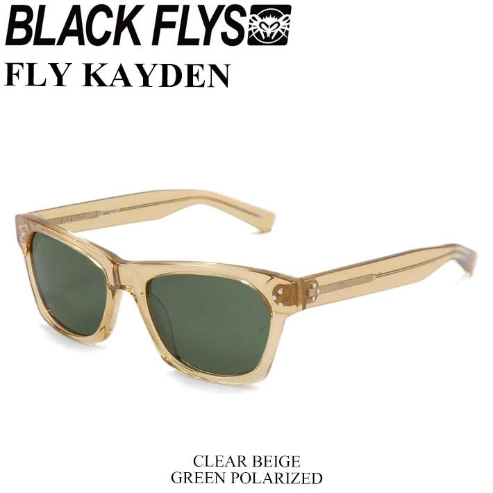 BLACK FLYS ブラックフライ サングラス FLY KAYDEN フライ ケイデン 偏光レンズ [C.BEIGE/GREEN POL] [BF-1225-04] ジャパンフィット