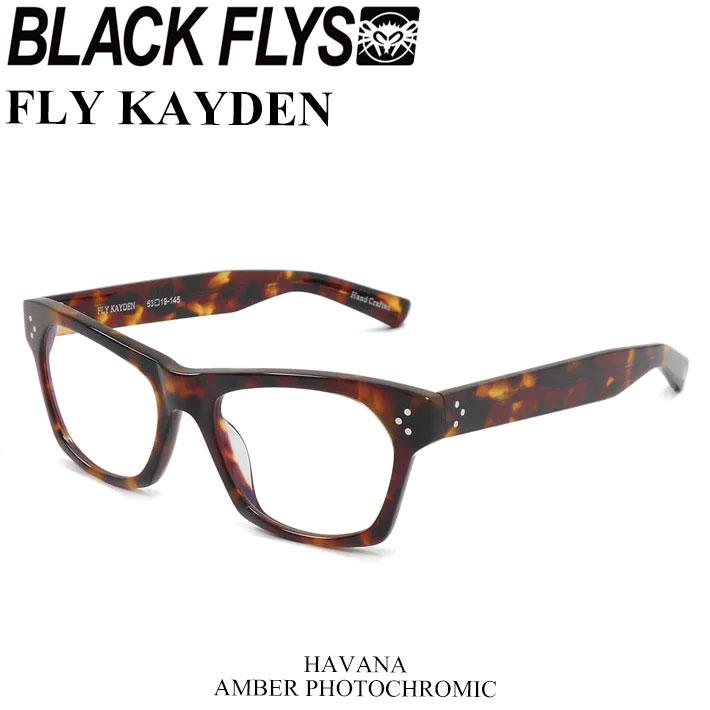 BLACK FLYS ブラックフライ サングラス FLY KAYDEN フライ ケイデン 調光レンズ [HAVANA AMBER PHOTO] [BF-1402-02] ジャパンフィット