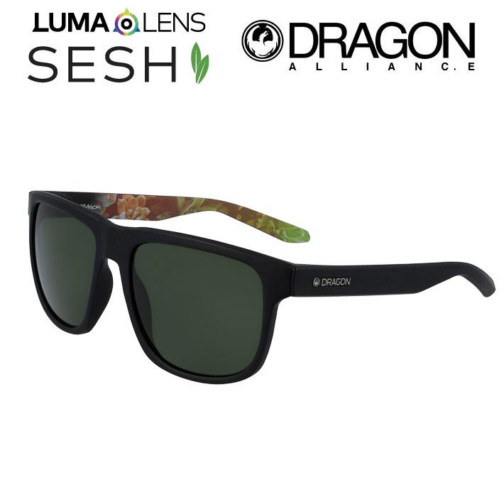 DRAGON ドラゴン サングラス SESH セッシュ [4-1] MATTE BLACK 正規品