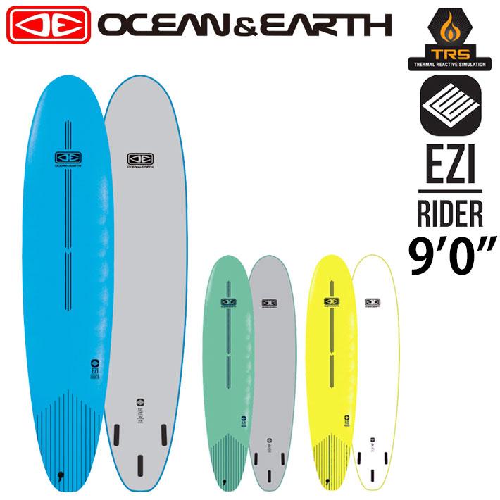 OCEAN&EARTH オーシャンアンドアース サーフボード EZI RIDER SOFT BOARD 9'0 ソフトボード ロングボード 初心者用ボード サーフィン SURFBOARD