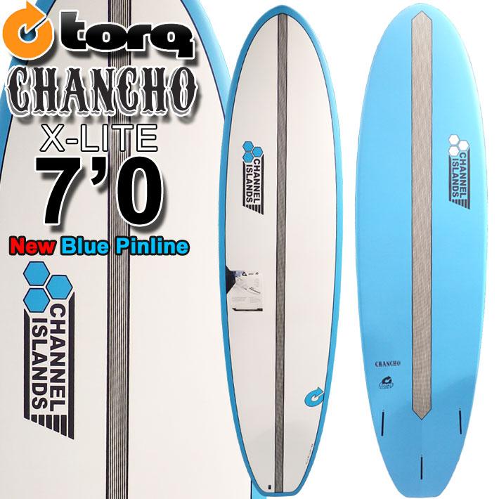 トルクサーフボード TORQ SurfBoard CHANCHO 7'0 チャンチョ [NEW BLUE PINLINE] AL MERRICK アルメリック サーフボード ファンボード ミッドレングス [条件付き送料無料]