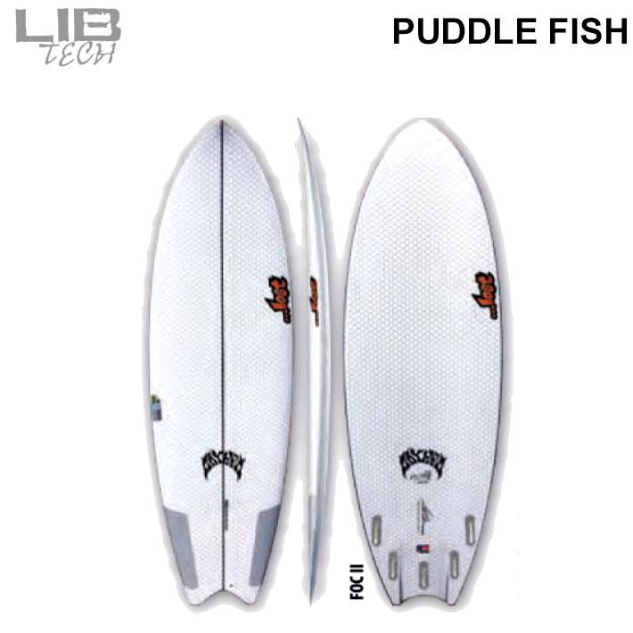 【送料無料】LOST LIBTECH PUDDLE FISH / ロスト リブテック パドルフィッシュ サーフボード ショートボード サーフィン