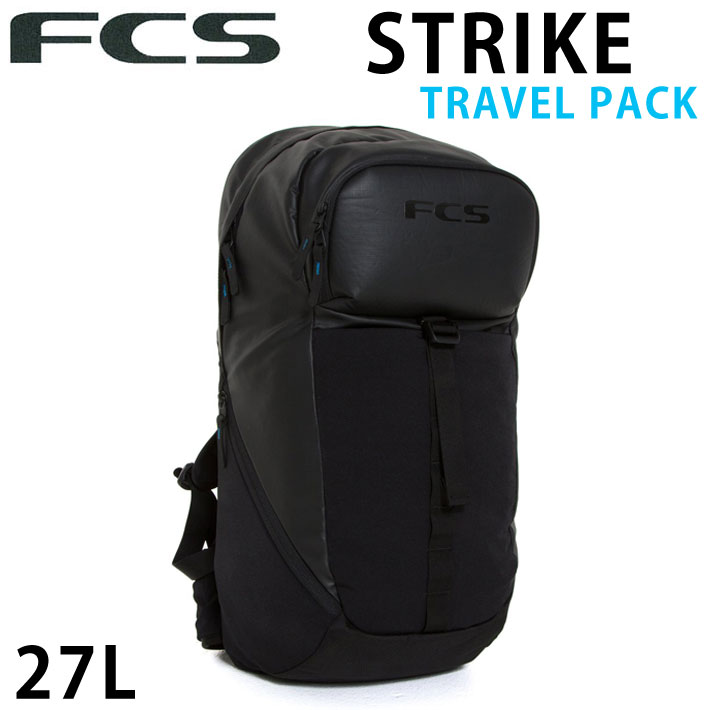FCS エフシーエス STRIKE TRAVEL PACK バックパック 27L リュック 鞄 サーフィン 旅行 トリップ【あす楽対応】