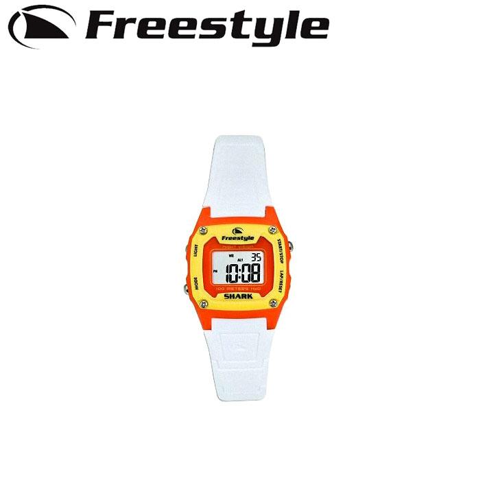FreeStyle フリースタイル 腕時計 [80990 WHT×ORG] SHARK CLASSIC MID シャーク クラシック ミッド ユニセックス デジタル時計【あす楽対応】