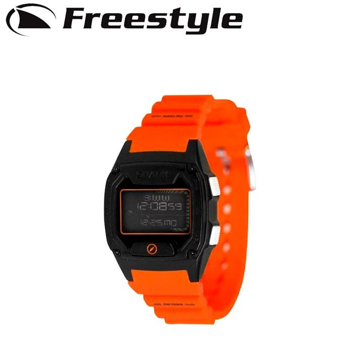 FreeStyle フリースタイル 腕時計 SHARK SKIN DIVER [10026931] ORANGE_BLACK シャーク デジタル時計【あす楽対応】