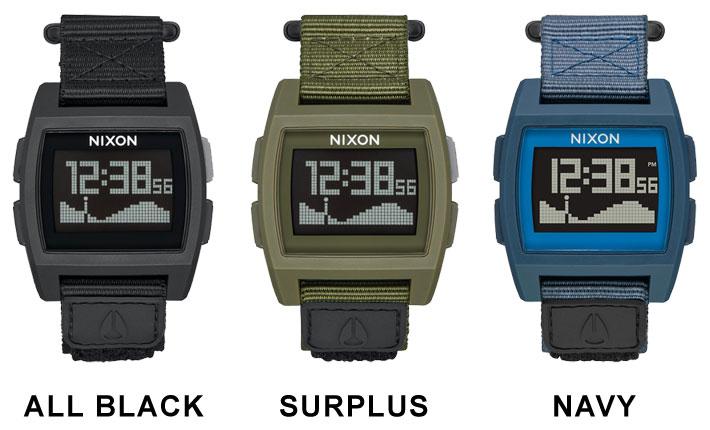 NIXON ニクソン BASE TIDE NYRON ベースタイド ナイロン 時計 腕時計 【ラッピング可】