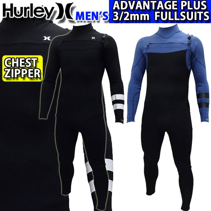 [follow's特別価格] ウェットスーツ フルスーツ メンズ 3mm 2020 Hurley ハーレー [MZFLAD20] CHEST ZIP チェストジップ ADVANTAGE PLUS アドバンテージ プラス サーフィン 春夏用 ウエットスーツ 【あす楽対応】
