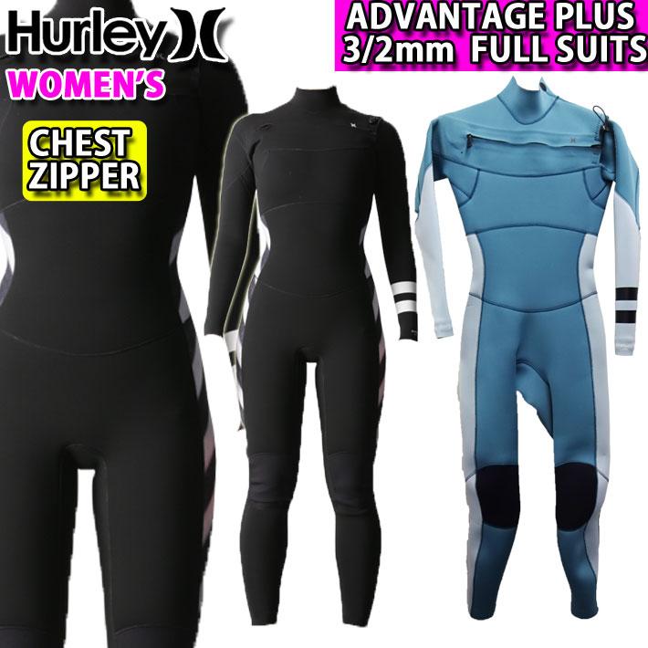 [follow's特別価格] フルスーツ レディース 3mm 2020 Hurley ハーレー ウェットスーツ [GZFLAD20] CHEST ZIP チェストジップ ADVANTAGE PLUS アドバンテージ プラス サーフィン 春夏用 ウエットスーツ【あす楽対応】