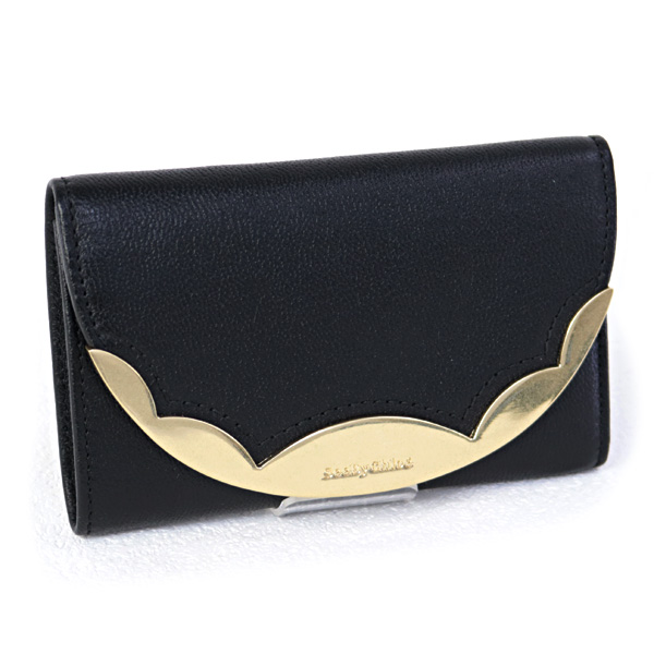シーバイクロエ SEE BY CHLOE 財布 BRADY COMPLETE 折財布 ブラック (CHS19SP830388 001 BLACK)【あす楽対応】
