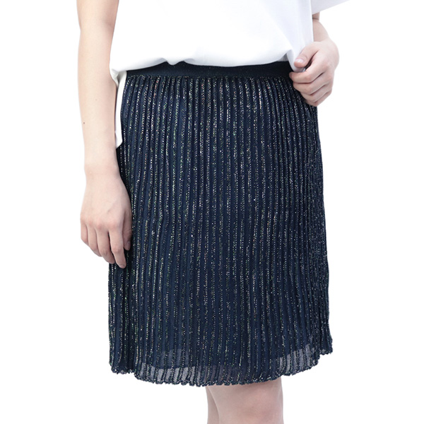 エム ミッソーニ M MISSONI スカート ネイビー (3DA9E1B0-MM1225 NV)