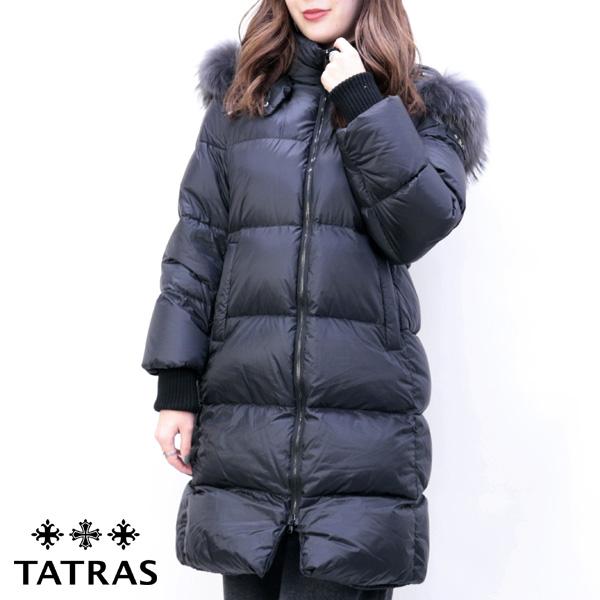 2018年秋冬 タトラス TATRAS レディース MOENA ダウンコート ブラック (LTA19A4705 19 BLACK)