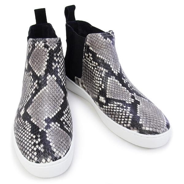 2016年春天夏天迈克尔迈克尔路线MICHAEL MICHAEL KORS鞋KEATON BOOTIE高cut运动鞋短靴蛇花纹黑色(43R6KTFE5S BLACK)