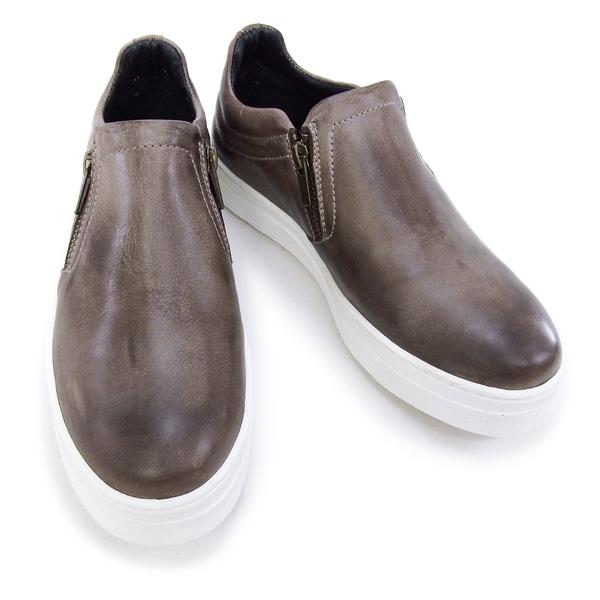 デザイン マニファトゥーラ design manifattura 靴 レディース YORK スニーカー スリッポン ブラウン (1030 VITELLO ANTIK TDM MORO)【あす楽対応】