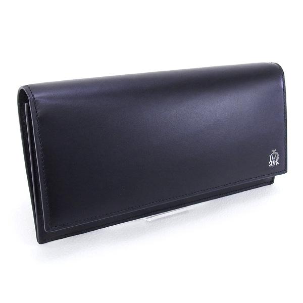 ダンヒル DUNHILL 財布 WESSEX 長財布 ブラック (L2AS10A BK)