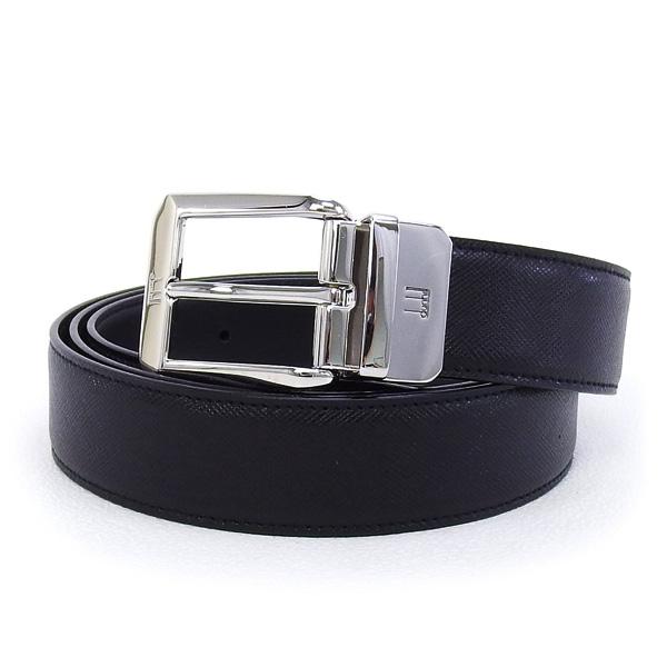 ダンヒル DUNHILL ベルト メンズ リバーシブルベルト ブラック×ブラック (HPW145A42 BK)