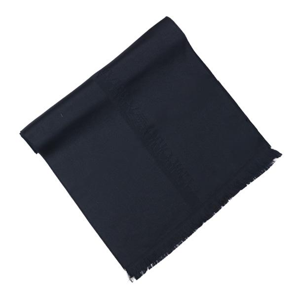 訳あり エンポリオアルマーニ EMPORIO ARMANI メンズ マフラー ブラック (625007 8P307 00020 BLACK)