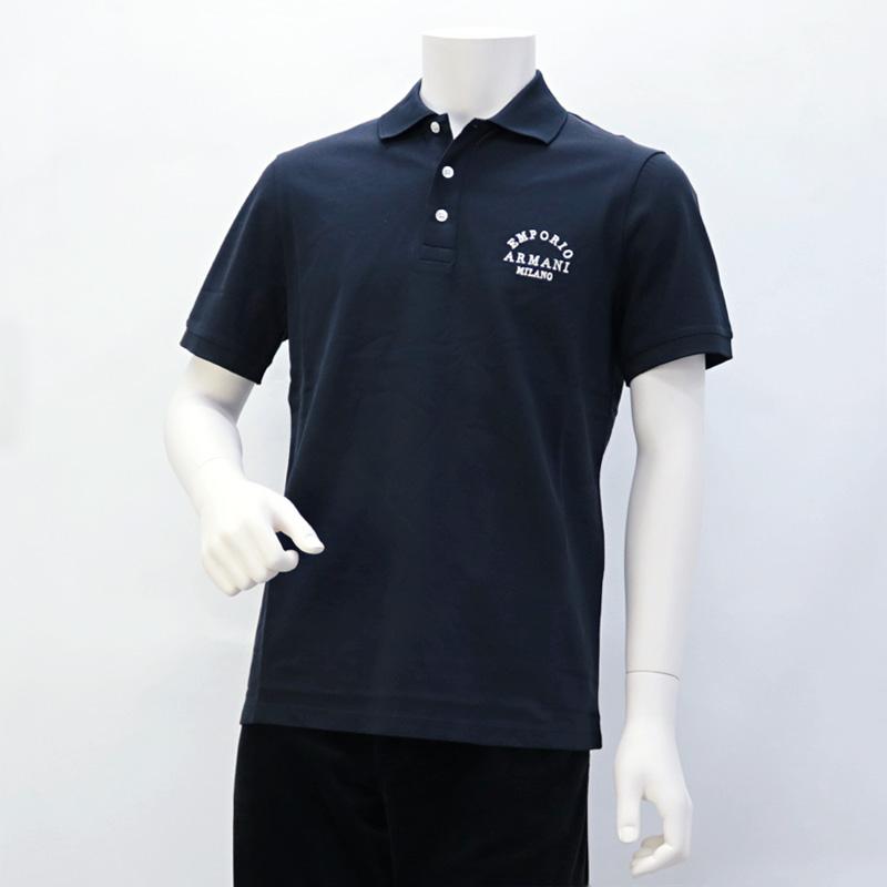 エンポリオアルマーニ EMPORIO ARMANI メンズ トップス ポロシャツ ネイビー (6G1FP1 1JJVZ 0920 BLU NAVY)