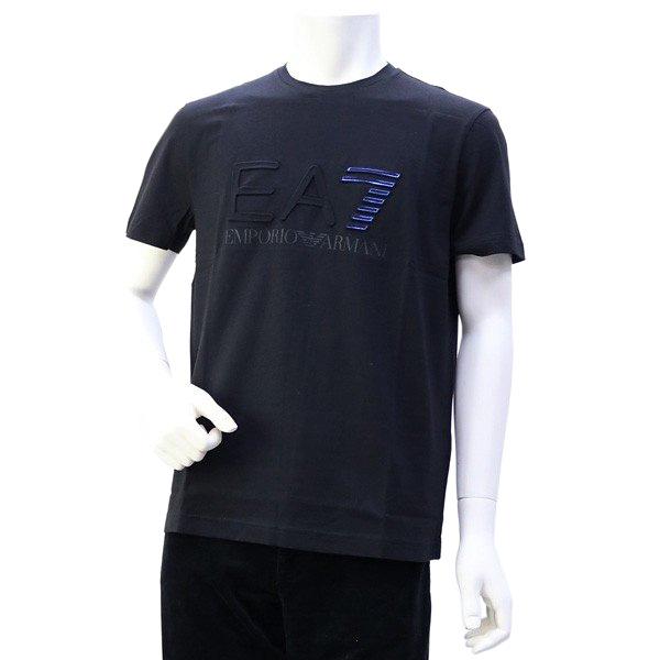 エンポリオアルマーニ イーエーセブン EMPORIO ARMANI EA7 メンズ トップス Tシャツ ブラック (3GPT32 PJ02Z 1200 BLACK)