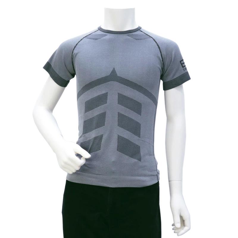 訳あり エンポリオアルマーニ イーエーセブン EMPORIO ARMANI EA7 メンズ トップス Tシャツ グレー (3GPT83 PJU8Z 1937 GRAY VIOLET)