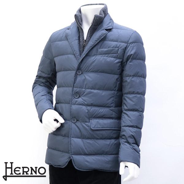ヘルノ HERNO メンズ アウター ダウンジャケット グレー (PI0487U 12004 GL 9099)