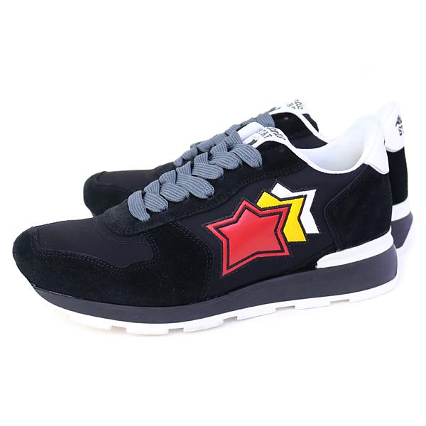 アトランティックスターズ Atlantic STARS アンタレス 靴 メンズ スニーカー ブラック (ANTARES NBN-41B TRICOLOR NERO)【あす楽対応】
