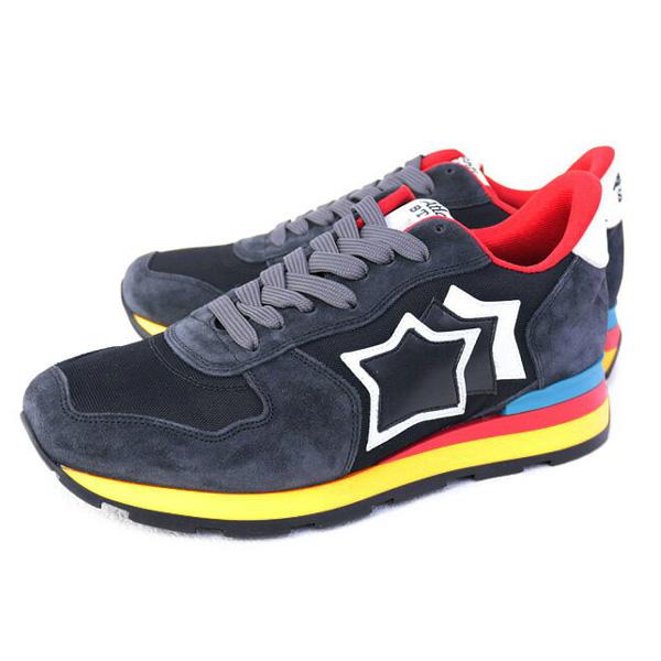 アトランティックスターズ Atlantic STARS アンタレス 靴 メンズ スニーカー ブラック (ANTARES AB-89C BLACK)