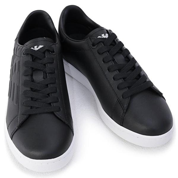 27%off 2020年秋冬 エンポリオアルマーニ 激安通販販売 EA7 イーエーセブン 2020年秋冬新作 EMPORIO ARMANI 靴 お歳暮 XCC51 ブラック メンズ 00002 BLACK スニーカー X8X001