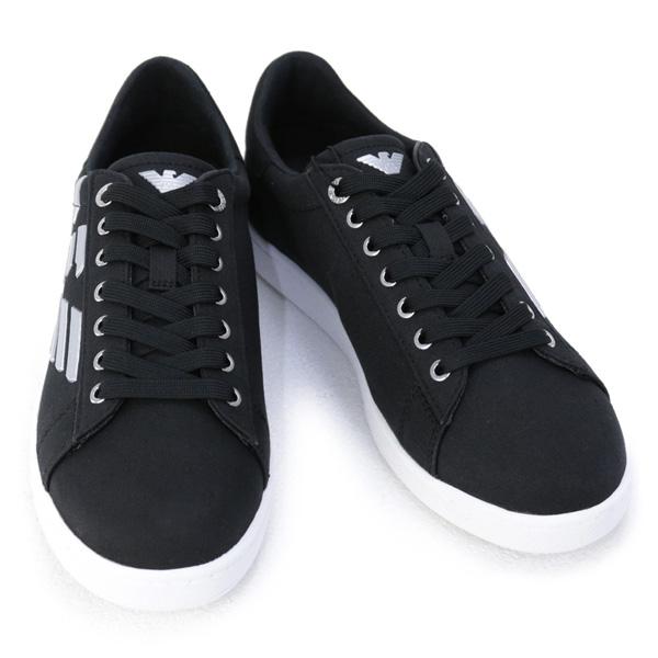 2020年秋冬 エンポリオアルマーニ EA7 イーエーセブン 2020年秋冬新作 EMPORIO ARMANI 靴 売却 スニーカー 2020 X8X001 BLACK+SILVER ブラック×シルバー XK124 N629 メンズ