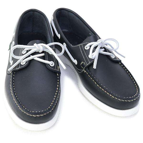 2021年春夏 パラブーツ PARABOOT シューズ 訳あり2 パラブーツ PARABOOT 靴 メンズ BARTH バース デッキシューズ ダークネイビー (780019 BARTH NAVY)