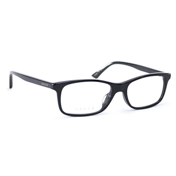 グッチ GUCCI メンズ メガネフレーム スクエア ブラック (GG0408OA 001 BK BLACK)