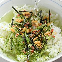 四万十河紫菜与 ume chazuke