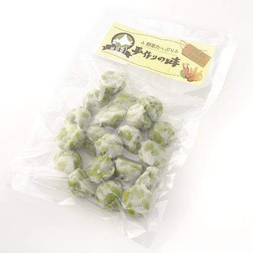 店舗 北海道十勝産の新鮮な枝豆で作りました 北海道産原料使用 開店記念セール えだまめコロコロ揚げ 揚げ天 20個入