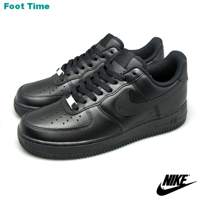 3adf46cf847b2 Nike air force one low 07 in the promise of the NIKE AIR FORCE 1 LOW 07  Black   Black BLACK BLACK 315122-001 men s sneakers arrival report view