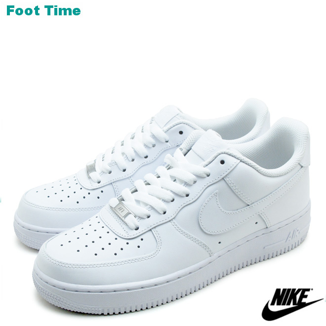 7154ba64fcbb Nike air force one low 07 NIKE AIR FORCE 1 LOW 07 black   white WHITE WHITE  315122-111 mens sneakers