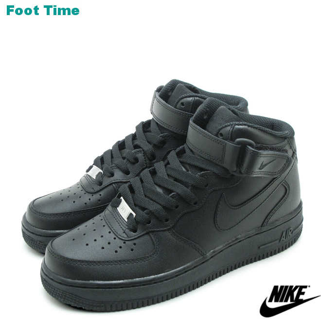 Nike NIKE AIR FORCE 1 HIGH PREMIUM LE air force 1 BLACKBLACK