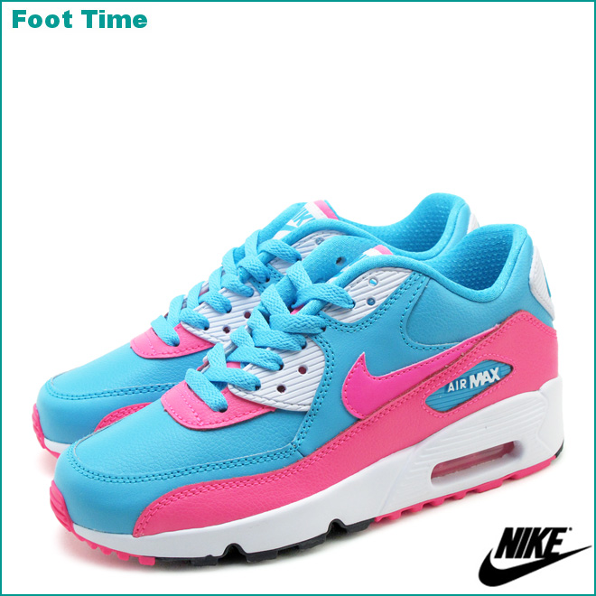 air max 90 leather gs rosa