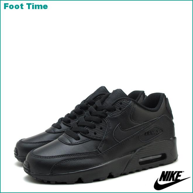 black air max 90 leather